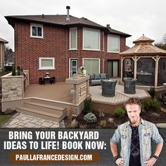 Have Paul Lafrance Design and build the backyard of your dreams! 😍  Take a look at the man behind the scenes & learn more about his building practices, design philosophies, and his roots. Visit the website! Bring It On, Backyard, Books, Life, Livros, Yard, Book, Backyards, Livres
