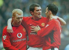 BFFs. Scholes, Keane, Giggs