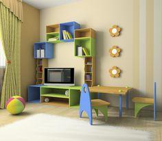 Arquitetura e psicologia para quartos de criança