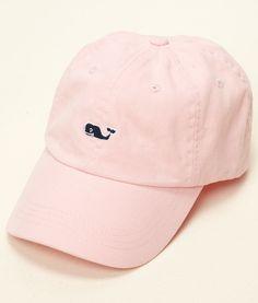 women's Baseball Caps: Signature Whale Logo Baseball Hat - Vineyard Vines $20
