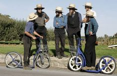 amish | Amish Scooters, Again | Anglican, Plain