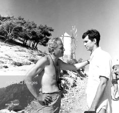 Hydra 1962 Anthony Perkins and J. Dassen