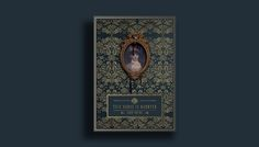 Victorian inspired book cover// Dust Jacket