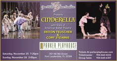 """NOVEMBER 25-26, 2017 BALLET """"CINDERELLA"""" AT THE PARKER PLAYHOUSE (FT. LAUDERDALE)  Dear Sir & Madame,  Being a proud sponsor of premiere of full length ballet """"Cinderella"""", Affordable Dentistry of Hollywood is happy to invite you to this beautiful production that has been brought by Open World Dance Foundation together with Two Stars of American Ballet Theatre to Florida for the first time ever, having had its premiere in Houston, Texas in 2016.  Buy Tickets On-Line…"""