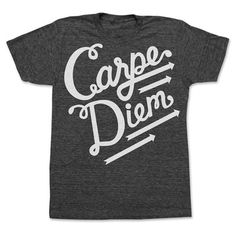 online retailer b1353 7e986 Print Liberation  Carpe Diem Tee Unisex Black, at 8% off! Love Fashion