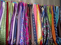 My organized pocket squares…
