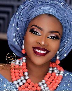 Gorgeous  #asoebi #asoebispecial #speciallovers #makeup #wedding  Glam @taza_beauty