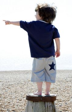 Bamboo Baby grey boys shorts with navy star - Perfect for the beach - repin if you agree! http://www.prettyspecial.co.uk/Bamboo-Baby/Grey-Organic-Cotton-Shorts-by-Bamboo-Baby £24.99