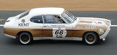 The Frami Racing Ford Capri as it's today