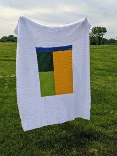 Kemily's Blanket Crochet PATTERN Modern Crochet Blanket | Etsy