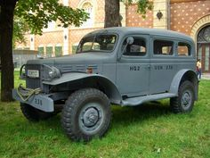 Dodge WC53 (1942) Maintenance/restoration of old/vintage vehicles: the material for new cogs/casters/gears/pads could be cast polyamide which I (Cast polyamide) can produce. My contact: tatjana.alic@windowslive.com