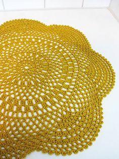 Crochet Doily - free pattern