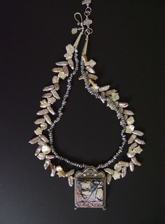 Gothic Landscape Necklace by Mary Hicklin (Virgo Moon)