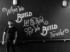Build Mural by Dan Cassaro