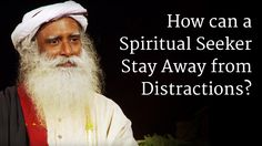 How can a Spiritual Seeker Stay Away from Distractions?