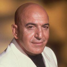 Telly Savalas. Telly was born on 21-1-1922 in Garden City, Long Island, New York…