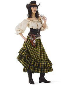 2983689f Womens Plus Size Cowgirl Bandit Costume | Kostuum | Western costumes ...