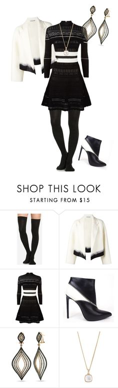 """""""Untitled #382"""" by pholtond on Polyvore featuring Dušan, Alexander McQueen and Yves Saint Laurent"""