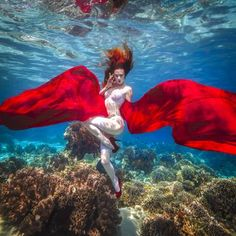 Buy Underwater dancing women, a Digital Photography on Paper, by Rafal Makiela from United Arab Emirates, For sale, Price is $560, Size is 19.7 x 19.7 x 0 in.
