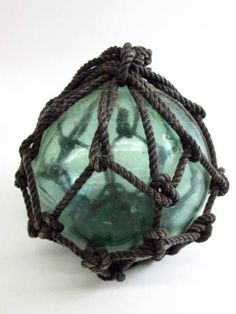 """Hanging 4"""" Glass Float Orb - Japan"""