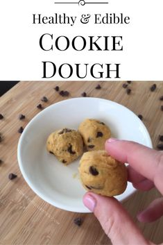 Cookie Dough that is actually GOOD for you! #healthymom #fitmom #healthandfitness #momhacks #healthandwellness #healthandnutrition #nutrition #healthymeals #healthymealplan #healthylife #fitnessfood #healthyeating