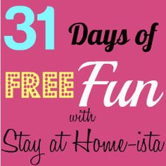 Stay at Home-ista: 31 Days of Free Fun Kickoff {How to Make a Paper Airplane}
