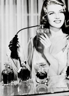 This picture is the epitome of glamour! Rita Hayworth, 1940s