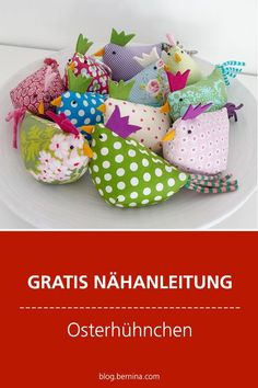 Gratis-Schnittmuster & Nähanleitung: Oster Hühnchen #nähen #nähprojekte #schnittmuster #deko #ostern#freebie #kostenloseschnittmuster Diy Home Crafts, Sewing Crafts, Beautiful Drawings, Sewing For Kids, Pin Cushions, Diy Tutorial, Couture, Upcycle, Dinosaur Stuffed Animal