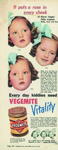 Print advertisement circa 1955.