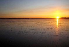 Beautiful lake, Aurinkoranta