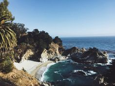 Gorgeous McWay Falls. #travel #bigsur #california #highway1 #summer