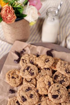 Bet you didn't know that a healthy chocolate chip and peanut butter cookie could taste so delicious. These feel-good cookies are dairy free, egg free, gluten free, sugar free, and loaded with protein. Made with whole ingredients like brown rice syrup and white beans, these cookies will inspire you to go for a second helping minus the guilt.