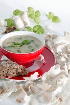Heerlijke knoflooksoep met prei | A.Vogel gezonde recepten