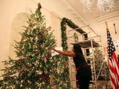 Take a trip back through White House Christmases past with this multi-year collection of pictures highlighting Christmas decor at 1600 Pennsylvania Ave.