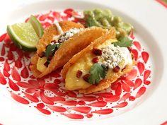 Crispy Taco Shells Made of Cheese