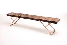 Mariana quinelato design - clip bench
