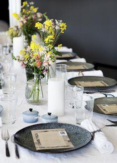 Broste Copenhagen blogger dinner. Styling Nathalie Schwer - Photos Line Thit Klein