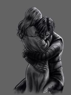 """cincala: """"Yay light study with Reylo! Also learning to use the water brushes in Procreate. This is a scene from """"Unbidden"""" a fanfic by I highly recommend it if you love kylo/Ben perspective stories and force bond! Romance Art, Fantasy Romance, Dark Fantasy Art, Fantasy Love, Anime Couples, Cute Couples, Character Inspiration, Character Art, Art Romantique"""