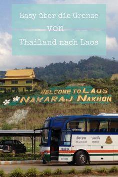 Du willst auf eigene Faust über die Grenze von Thailand nach Laos reisen? Dafür musst Du nicht unbedingt ein Paket im Reisebüro buchen- auf eigene Faust geht das kinderleicht und günstiger- zum Beispiel von Chiang Rai nach Huay Xai, um da das Slow- oder Speed-Boat nach Luang Prabang zu nehmen. Chiang Rai, Luang Prabang, Koh Lanta Thailand, Vietnam, Asia, Boat, Roadtrip, World, Travel