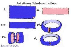 Anleitung Stirnband nähen
