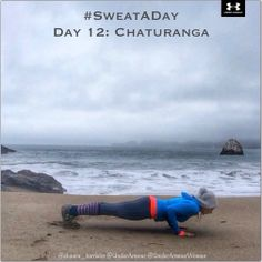 #SweatADay Day 12: Chaturanga @undearmour @Under Armour Women #IWILL
