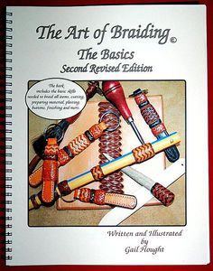 Gail & Eric Hought teach leather & rawhide braiding, author instructional braiding books on braiding basics and braiding a bosal or hackamore and sell braiding supplies. Leather Art, Leather Books, Braided Leather, Leather Jewelry Making, Leather Working Tools, Leather Tooling Patterns, Horse Crafts, Leather Projects, Crafty Projects