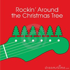 Rockin' around the Christmas Tree, Have a Happy Holiday! Christmas Songs Lyrics, Christmas Tunes, Christmas Rock, Christmas Shows, Little Christmas, Christmas Wishes, Diy Christmas Gifts, Christmas Humor, Christmas Holidays
