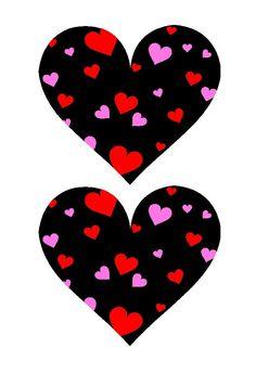 Heart shape Template 11