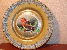 Остальное: рождественские тарелки и держатель тарелок (декупаж) ФОТО #8