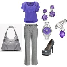 great teacher outfit. but..too much purple