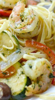 Shrimp Pesto