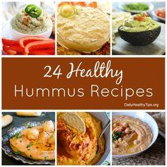 24 healthy hummus recipes