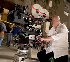 Rob Reiner, the legend, in action!
