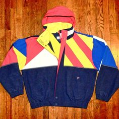 Austin Knight Vintage 90 S Tommy Hilfiger Jacket With   Nuji Tommy Hilfiger  Jackets, Wind Jacket ac6a15558213